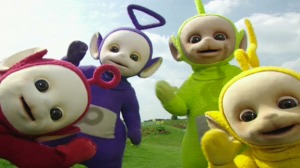There is no difference between Teletubbies and Apocalyptic Teletubbies