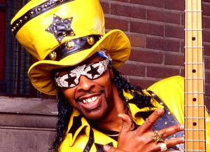I'm Bootsy Collins. I kill you!